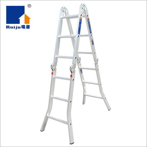 瑞居六關節鋁合金梯