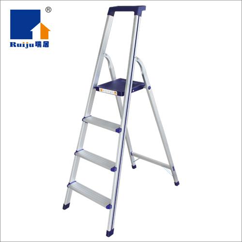 瑞居家用折叠梯子人字梯铝合金梯子工具梯YQJT-T
